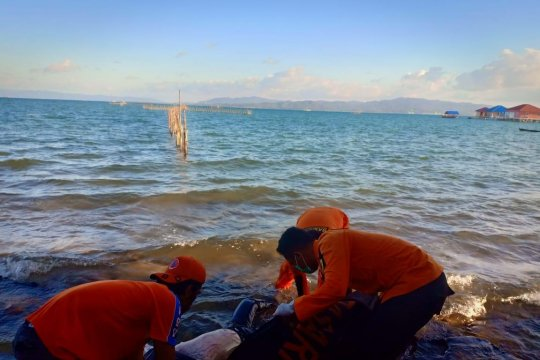 Polisi Sulawesi Tenggara tahan nahkoda kapal terbakar