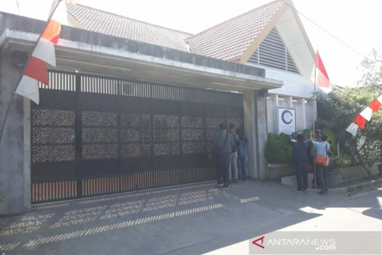 KPK segel bangunan di Colomadu