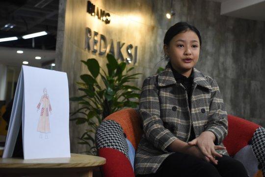 Hanna Aulia Khadijah dedikasikan diri untuk jadi desainer
