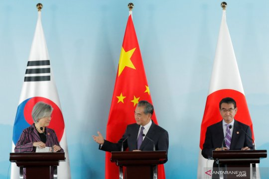 China, Jepang, Korsel tingkatkan pertukaran budaya di tengah kemelut