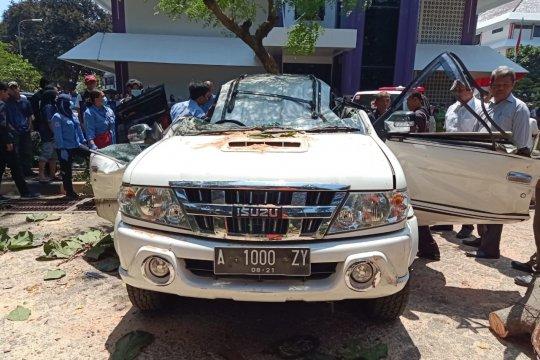 Korban tewas tertimpa pohon orangtua mahasiswa Universitas Pancasila