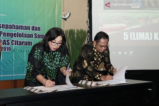 Bekasi-Kementerian LHK kerja sama pengelolaan sampah Sungai Citarum