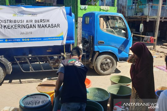 ACT siap distribusikan 2,1 juta liter air hadapi musim kemarau