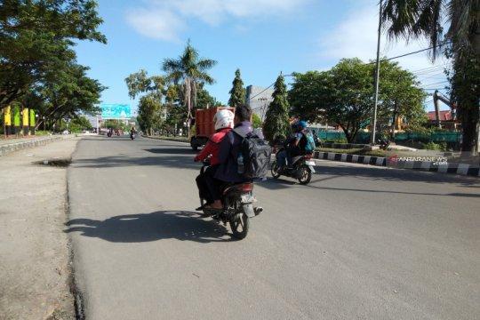 Aktivitas di Kota Sorong kembali normal