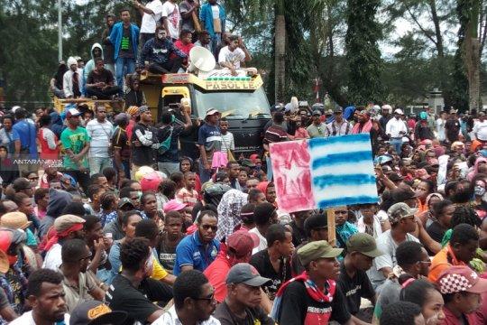 Sejumlah wartawan di Sorong diintimidasi saat meliput demo