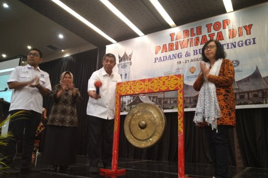 Yogyakarta bawa 20 agen wisata ke Sumatera Barat