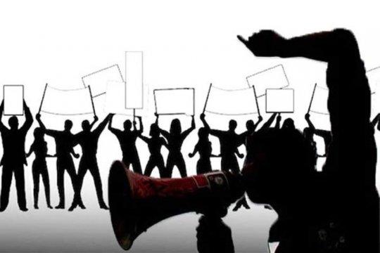 Ribuan warga Mimika turun ke jalan suarakan anti-rasisme
