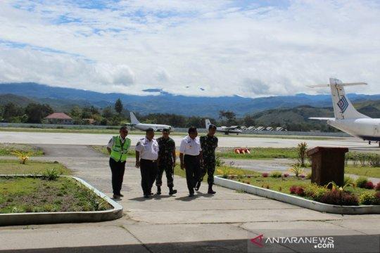 Kementerian Perhubungan bantu perpanjangan landasan pacu Wamena