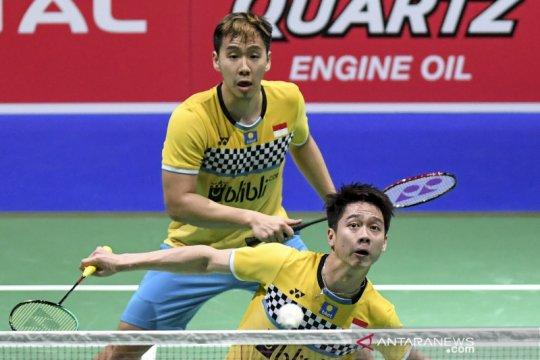 Minions rebut gelar juara China Open setelah kalahkan The Daddies