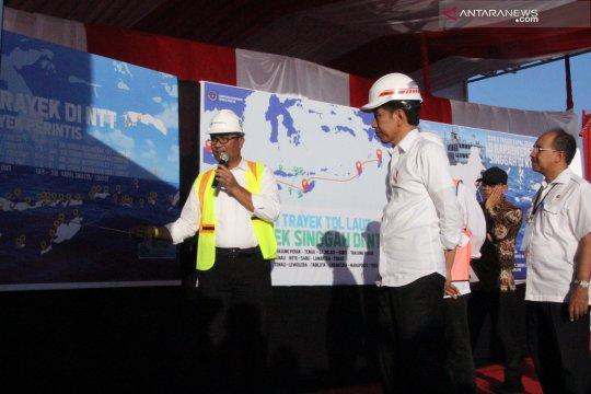 Presiden Jokowi kunjungi Pelabuhan Tenau Kupang