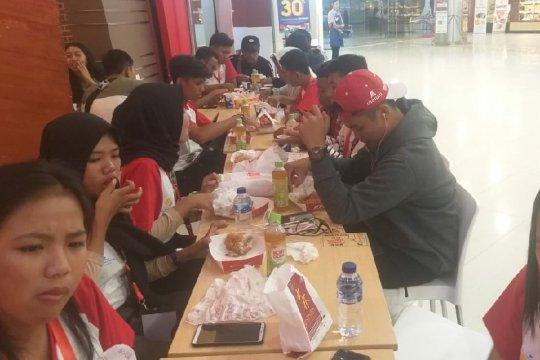 Peserta SMN disabilitas asal Sulteng suka ayam goreng Medan