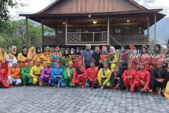 Peserta SMN 2019 Sumut akhiri kunjungan di Sulawesi Tengah