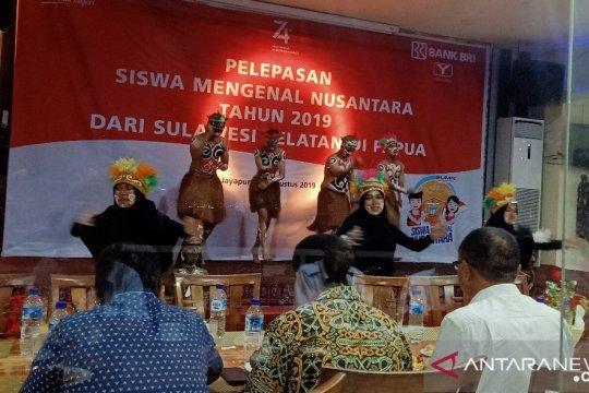 Wakil Wali Kota Jayapura apresiasi penampilan tari SMN Sulsel