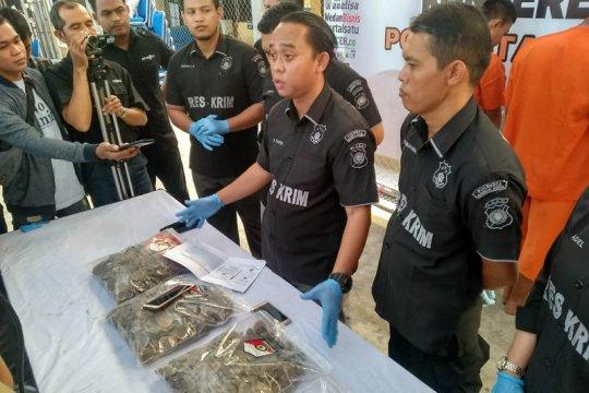 Polisi gagalkan perdagangan sisik tenggiling dan duri landak