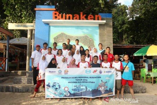 Peserta SMN Jawa Tengah kagum keindahan Bunaken