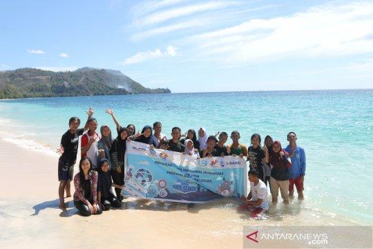 Peserta SMN 2019 Jateng nikmati wisata laut Sulut