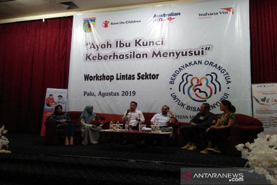 Pemberian ASI eksklusif bayi dapat mencegah kekerdilan di Palu