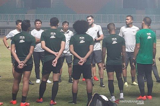 I Made Andhika gali ilmu di debut timnas Indonesia