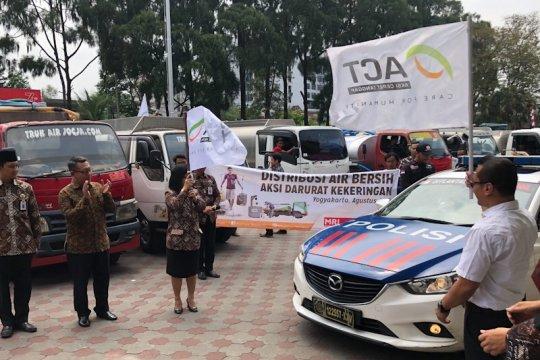 Atasi bencana kekeringan, 17 truk tangki dikirim ACT ke Gunungkidul