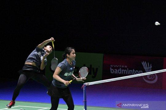 Masuk perempat final Macau Open, Della/Rizki bertemu Siti/Ribka