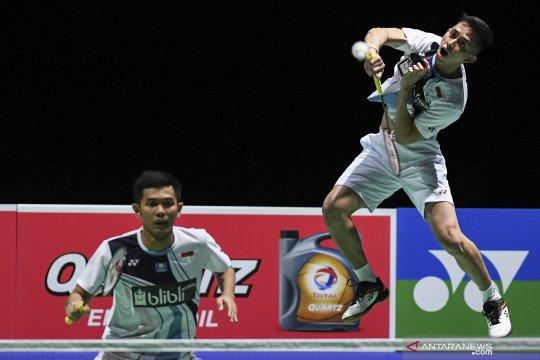 Fajar/Rian atasi hambatan teknis di babak pertama China Open