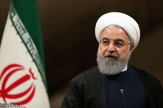 Presiden Iran: Tak ada pembicaraan dengan AS kecuali sanksi dicabut