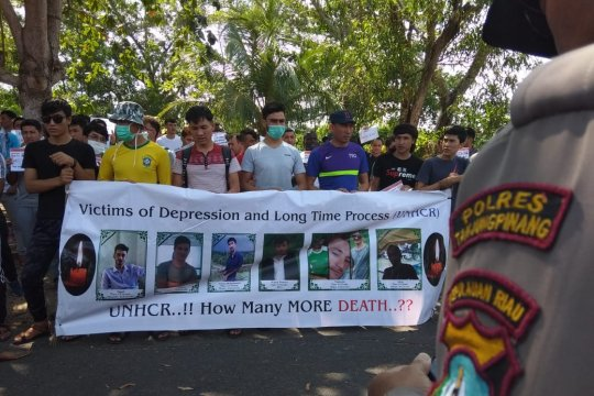 Polres Tanjungpinang minta Kantor UNHCR pindah ke Bintan
