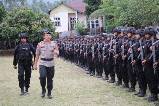 Polda Malut kirim 100 personel Brimob ke Papua