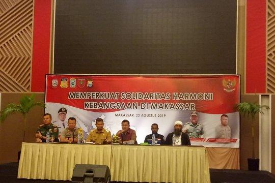 Makassar deklarasi damai solidaritas untuk Papua