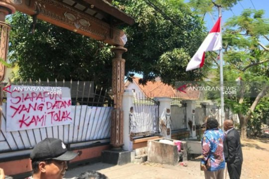 Polrestabes Surabaya selidiki kasus perusakan bendera