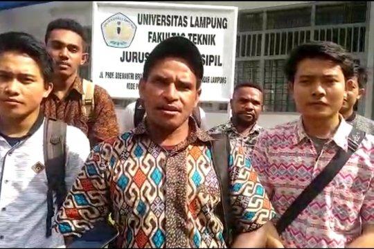 Mahasiswa Papua di Lampung minta pemerintah lebih perhatikan Papua