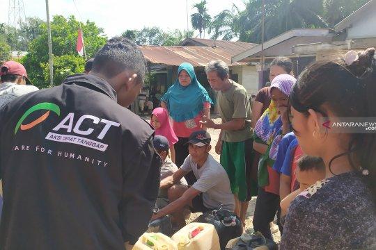 ACT salurkan air bersih, atasi kekeringan di Langkat