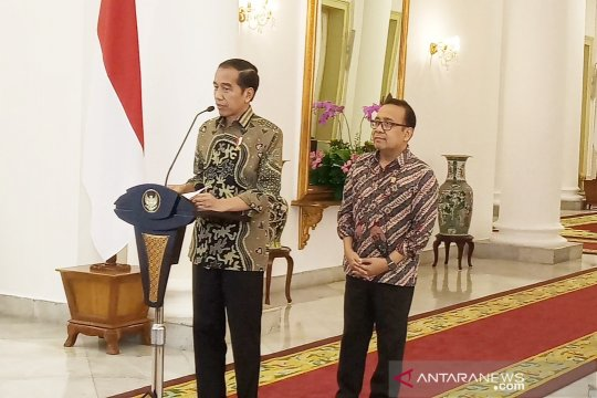 Jokowi sebut soal lokasi pemindahan ibu kota masih tunggu kajian
