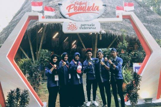 Mahasiswa Fisipol UMP korwil Festival Pemuda tingkat nasional