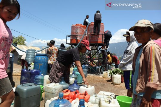 ACT distribusi air bersih untuk warga tiga desa di Sigi