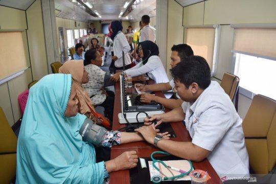 Layanan kesehatan gratis PT KAI