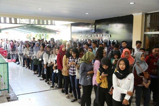 1.150 lowongan ditawarkan di Bursa Kerja Terbuka Surabaya 2019