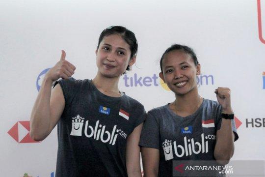 Della/Rizki lalui ujian pertama, menang atas ganda putri Ukraina