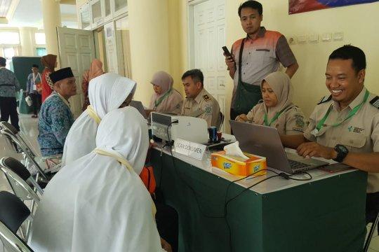 Dinkes Mataram pantau kesehatan haji setelah pulang