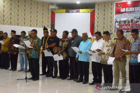 Ormas Nusantara Biak deklarasi tolak aksi rasisme orang asli Papua