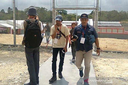 """Kunjungan Menkumham di Nusakambangan diwarnai aksi """"walk out"""" wartawan"""