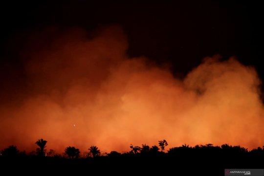Bolsonaro sebut masyarakat pribumi penyebab kebakaran Amazon
