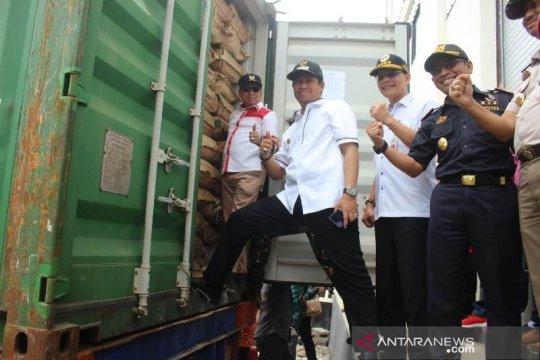 Kementan lepas ekspor perdana tepung kelapa Banggai ke Jerman