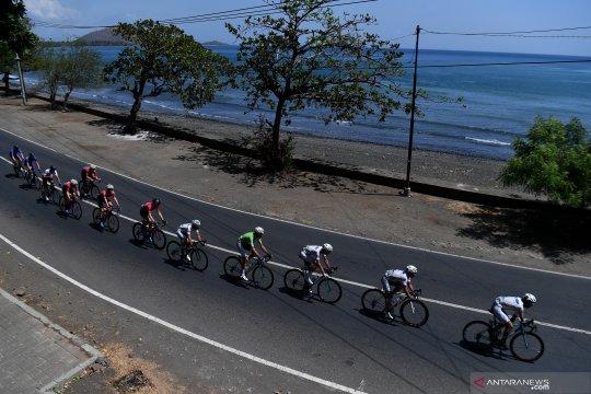 Etape terakhir Tour de Indonesia