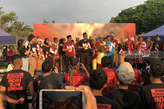 Wali Kota Malang ajak para mahasiswa rajut kebhinekaan