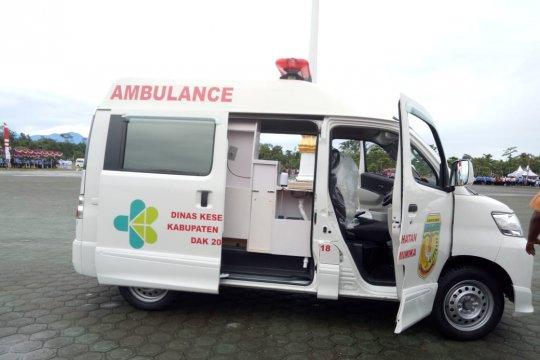Hadapi PON Papua, Mimika siapkan 17 ambulans