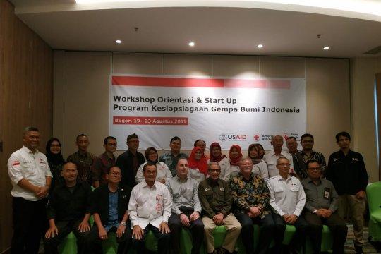 PMI  Amcross dan USAID luncurkan program kesiapsiagaan bencana gempa