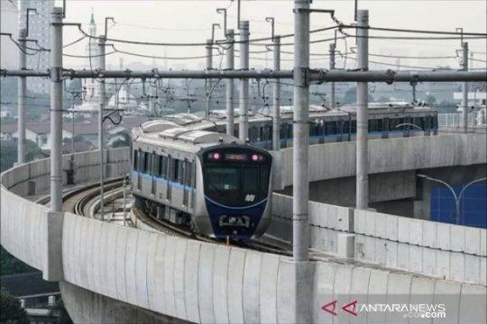 Operasional MRT tetap lancar meski sebagian Jakarta mati listrik