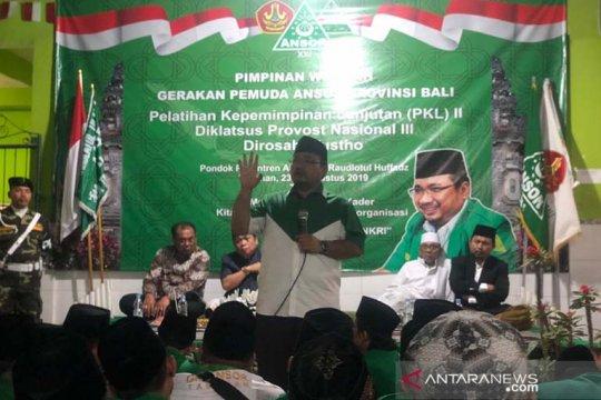 Ketua Umum PP Ansor minta Banser jaga keutuhan NKRI