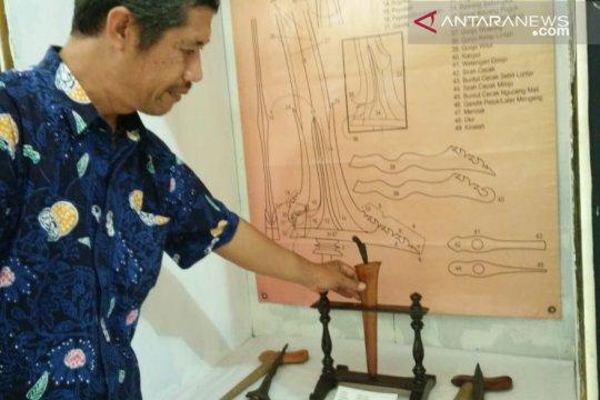 Keris pusaka berusia lebih 700 tahun dipamerkan di Museum Tosan Aji